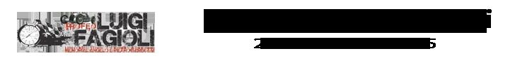 50° TROFEO LUIGI FAGIOLI 21 – 22 – 23 AGOSTO 2015