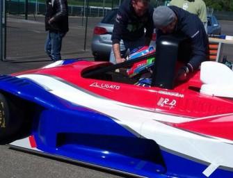 Shakedown per Luca Ligato e la Osella PA21s Evo Honda.