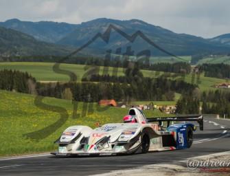Merli in gara al Reventino con l'Osella FA 30 Fortech 3000  1° appuntamento del Campionato Italiano Velocità in Montagna