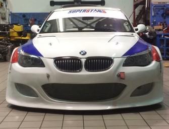 Tavani su BMW 550 al Trofeo Scarfiotti