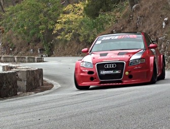 [ONBOARD] Antonio CARDONE || Audi SR4 || Monte ERICE 2017