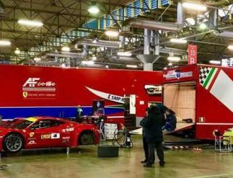Lucio Peruggini presente al Motorshow di Bologna il 4 dicembre per il Trofeo GT