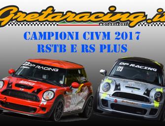 I portacolori Gretaracing Antonio Scappa e Ciccio Savoia al Monza Eni Circuit per la Premiazione dei Campioni del Volante