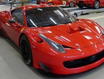 Ferrari 458 GT3 per Luca Gaetani