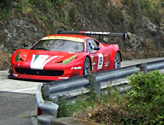 Lucio PERUGGINI    Ferrari 458 GT3    Reventino 2017